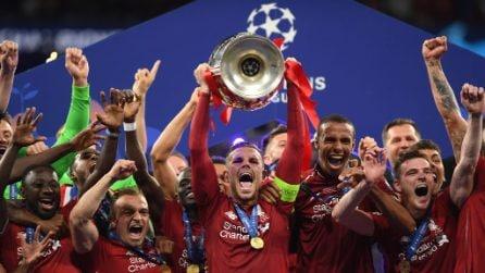 Champions League, le immagini della finale Tottenham-Liverpool