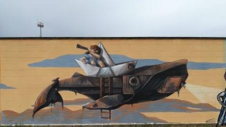 """""""Manufactory Project"""", il festival della street art di Comacchio"""