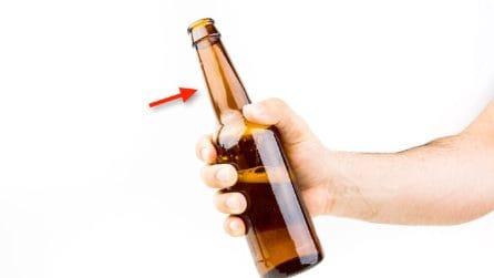 Collo lungo delle bottiglie di birra: ecco a cosa serve