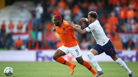 Nations League, le immagini di Olanda-Inghilterra