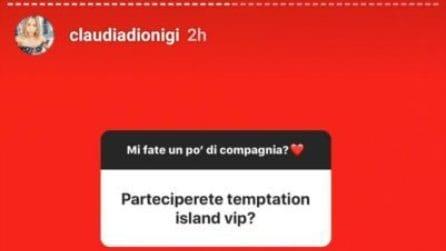 Lorenzo Riccardi e Claudia Dionigi a 'Temptation Island Vip'? La risposta di lei