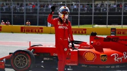 Ferrari in forma mondiale, Vettel conquista in Canada la prima pole position del 2019