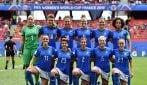 Mondiali di calcio femminile, le immagini di Italia-Australia