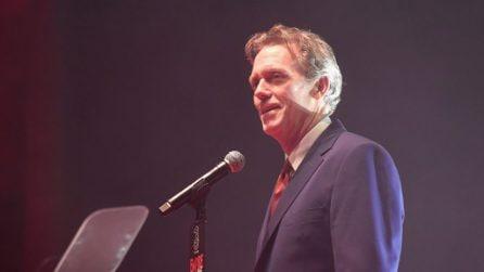 Le foto dell'attore inglese Hugh Laurie
