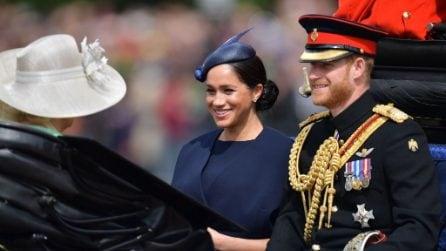 Le foto del Trooping The Colour, l'evento per il compleanno della Regina
