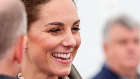Il look casual di Kate Middleton per la campagna