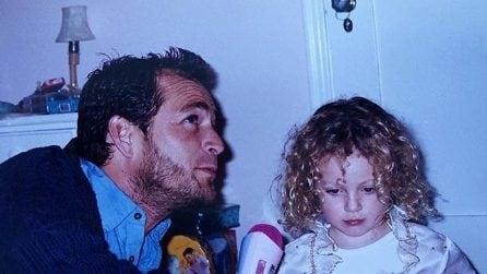 Luke Perry e la figlia Sophie: le foto d'infanzia