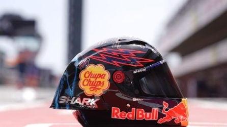 MotoGP, casco speciale per Lorenzo a Barcellona
