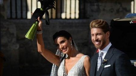 Il matrimonio di Sergio Ramos con Pilar Rubio