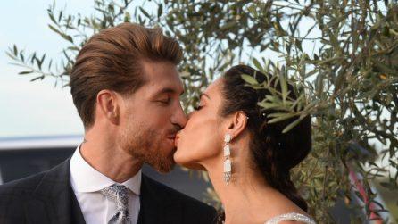 Vip e campioni al matrimonio di Sergio Ramos e Pilar Rubio