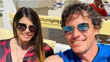Le foto di Patrick Baldassari con la figlia Luna