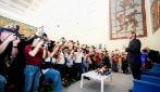 Francesco Totti dice addio alla Roma nella conferenza al Coni