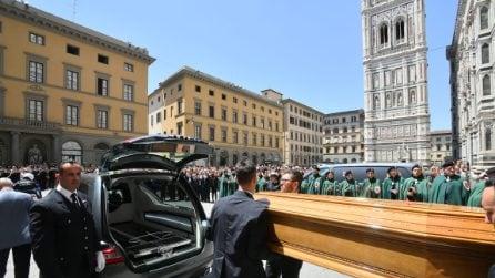 Le foto dei funerali di Franco Zeffirelli in Santa Maria del Fiore