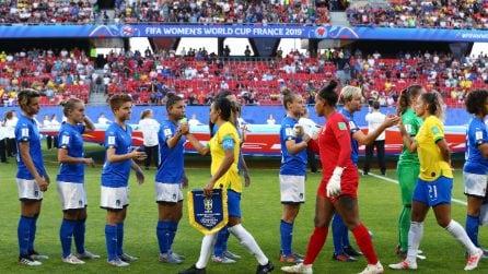 Mondiali 2019, le immagini di Italia-Brasile
