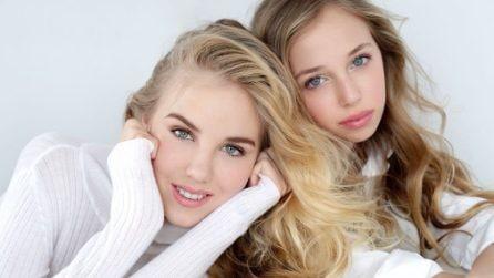 Maria Carolina e Maria Chiara, le bellissime principesse di Borbone