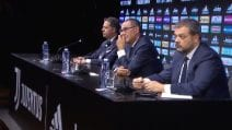 La conferenza stampa di Maurizio Sarri alla Juventus