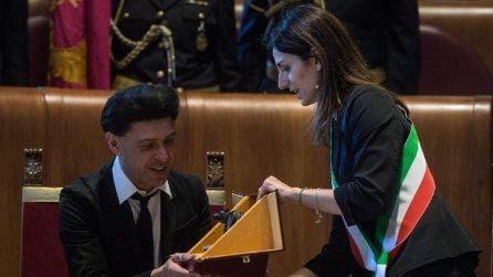 Ezio Bosso riceve la cittadinanza onoraria di Roma
