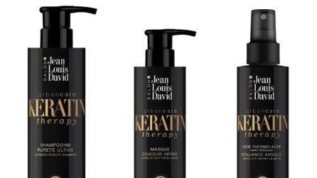 Le maschere e i prodotti per capelli alla cheratina