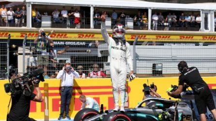 Hamilton padrone in Francia, l'inglese si prende record e pole position