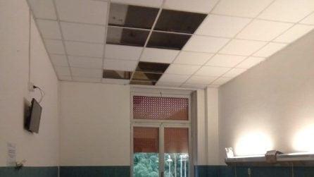Maltempo, crollano i controsoffitti all'ospedale Sacco di Milano
