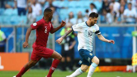 Copa America 2019, le immagini di Qatar-Argentina