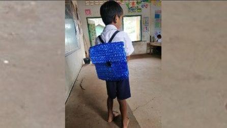 Insegnante condivide la foto di un suo studente sui social: il motivo è commovente
