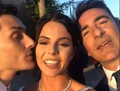 Il matrimonio di Vincenzo con Andrea Falzane: tra gli invitati, Shaila Gatta