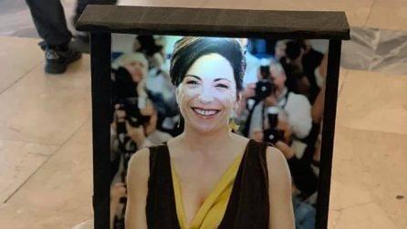 I funerali di Loredana Simioli a Napoli