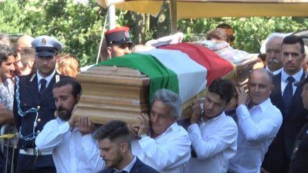 Rocca di Papa, l'ultimo saluto al sindaco eroe Emanuele Crestini morto nell'esplosione