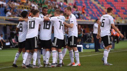 Europei Under 21 2019, semifinali: le immagini di Germania-Romania