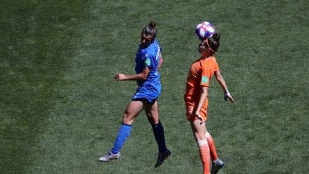 Mondiali 2019, le immagini di Italia-Olanda