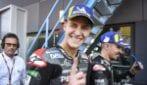 MotoGP, Quartararo in pole, Vinales e Rins in prima fila