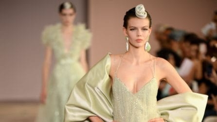 Armani Privé collezione Haute Couture Autunno/Inverno 2019-20