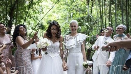 Le foto del matrimonio di Antonella Lo Coco ed Elisa Paolini
