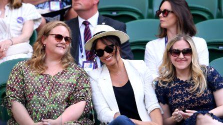 Meghan Markle al torneo di Wimbledon dopo il parto