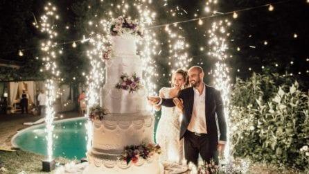 Paola Turani, il matrimonio e gli abiti della sposa