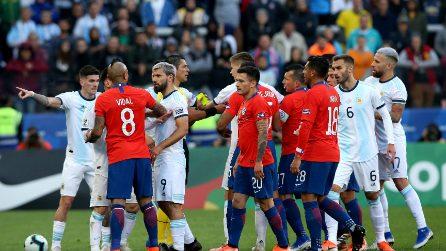 Copa America 19, le immagini di Argentina-Cile