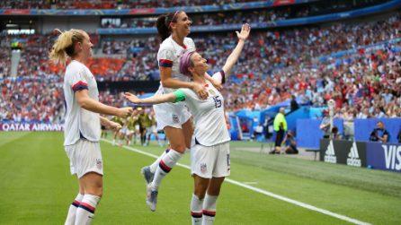 Mondiali femminili 2019, le immagini della finale Usa-Olanda