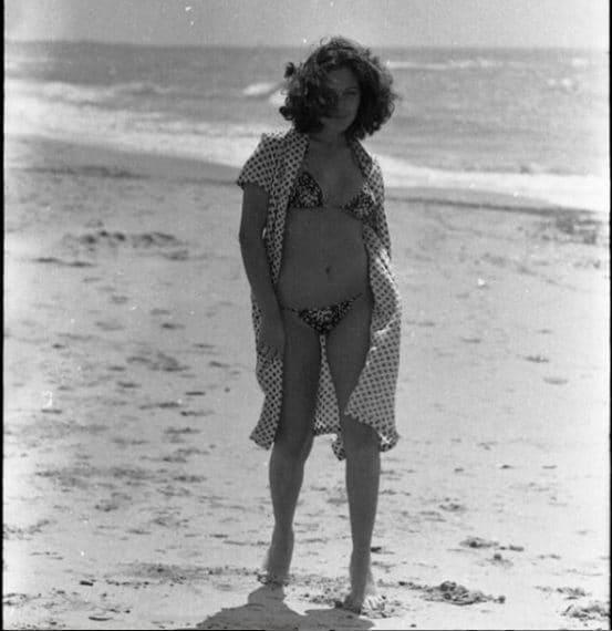 Barbara D'Urso in una foto degli Anni 80