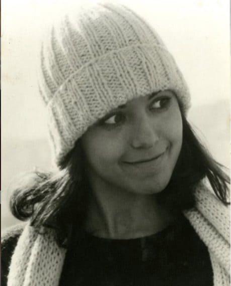 Barbara D'Urso in una foto da ragazzina
