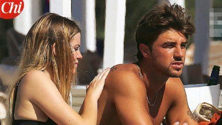 Le foto delle vacanze di Andrea Damante e Sara Croce a Ibiza