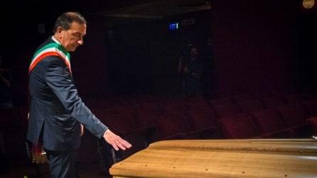 Morte di Valentina Cortese, la camera ardente allestita al Piccolo teatro Grassi