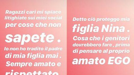 Clizia Incorvaia parla del presunto tradimento a Sarcina con Scamarcio