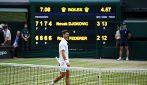 Wimbledon, le immagini della finale Djokovic-Federer