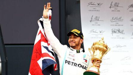 Hamilton re d'Inghilterra, l'inglese diventa il più vincente nella storia del GP di Gran Bretagna