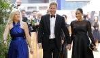 """L'abito nero di Meghan Markle alla prima londinese de """"Il Re Leone"""""""