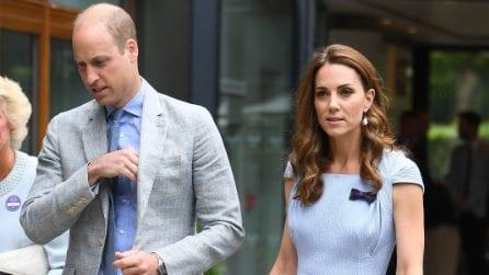 Kate Middleton, look pastello per la finale di Wimbledon