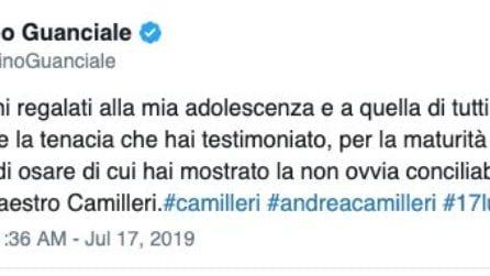 Addio ad Andrea Camilleri, le reazioni del mondo dello spettacolo