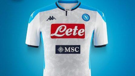 Napoli, la 2a e la 3a maglia per la stagione 2019-2020