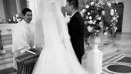 Le foto del matrimonio di Silvia, sorella maggiore di Ilary Blasi